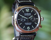 Panerai PAM 369 Radiomir Stainless Steel Automatic Chronograph 42mm