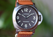 Panerai PAM 55 Base Model Titanium Tobacco Dial 44 mm $7