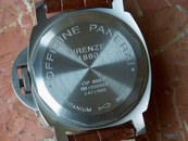 Panerai PAM 56 Luminor Marina Destro Titanium Tobacco Dial Shadow Model