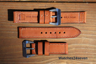 DIRK Straps Made in Italy Vero Cuoio Tan Calf Pre Vendom Style