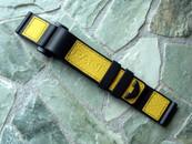 Panerai OEM Kevlar Velcro Dive Strap A Series Yellow Standard Length