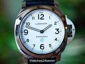 Panerai PAM 630 Luminor Base White Dial Logo Boutique Edition 44mm