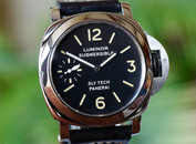 Panerai Pre Vendom 5218-205A Slytech Submersible Black Dial 44mm