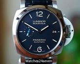 Panerai PAM 1392 Luminor Marina 1950 3 Days Auto Acciaio, Blue Sub hand 42mm