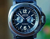 Panerai PAM 192 Luminor Tantalium Chronograph Lamania Movement LTD 44mm