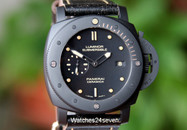 Panerai PAM 508 Luminor Submersible 1950 Black Ceramic 3 Days LTD 47mm