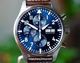 IWC Chronograph Calendar Petite Prince LTD Blue Dial, 43mm