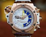 Hublot King Power Oceanographic 1000 Gold White Dial LTD.