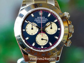 Rolex Cosmosgraph Daytona Chrono Yellow Gold Black & Champagne Dial, Ref. 116528 ON HOLD