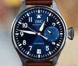 IWC Big Pilot Le Petit Prince Midnight Blue Dial Automatic 7 Day 46mm