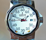 Corum Admirals Cup Competition 40 White Nautical Flag Dial