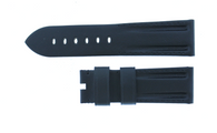 Panerai OEM Black Tunnel strap 24/22mm XL