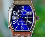 Ulysse Nardin Michael Angelo Blue Dial Dual Time UTC