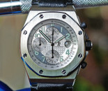 Audemars Piguet Royal Oak Offshore Chrono Silver Dial 42mm