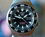 Seiko 5 Dive Watch 200 Meter Automatic Day Date 40th Anniversary LTD