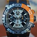 Roger Dubuis Easy Diver Chronograph Black Silver Orange LTD 46mm ON HOLD