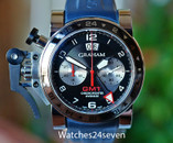 Graham Chronofighter Oversize Auto GMT Chronograph Date  LTD