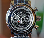 Graham Silverstone Woodcote II LTD GMT Chronograph Date Power Reserve