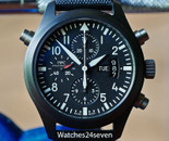 IWC DOPPELGRAPH CERAMIC LIMITED EDITION 44mm