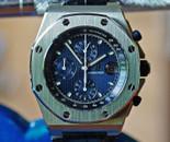 Audemars PIguet ROO Chronograph Blue Dial 42mm w Box