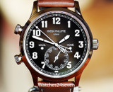 Patek Philippe Calatrava Pilot Travel Time Auto Rose Gold 42mm