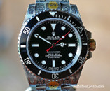 "Rolex Submariner ""Engraved Masterpiece"" No Date Stainless Steel 40mm"