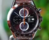 Tag Heuer Carrera Automatic Chronograph Brown 41mm ON HOLD