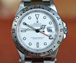 Rolex Explorer II GMT Red Hand White Dial 40mm Ref. 16570