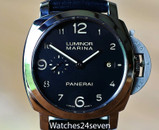 PANERAI PAM 359 LUMINOR MARINA AUTO 3 DAY PATINA DIAL 44mm