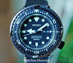 Seiko Prospex Marinemaster Pro 1000m Ceramic & Chrome Japan LTD 47mm