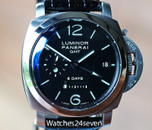 Panerai PAM 233 Luminor 1950 GMT 8 Days Dot Dial 44mm