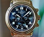 Blancpain Flyback Chronograph Rose Gold Military Dial LTD 38mm