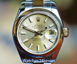 Rolex Datejust 2 Tone Champagne Dial 26mm Ref. 179163