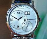 A. Lange & Sohne Grand Lange 1 Big Date Silver Dial Platinum 41.9mm