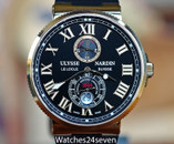 Ulysse Nardin Maxi Marin Chronometer Rose Gold 43mm