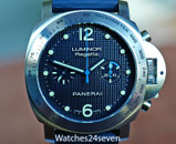 Panerai PAM 308 Automatic Chronograph Regatta Special Edition 44mm NOS