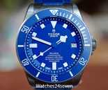 Tudor Pelagos Chronometer Automatic Date Blue Dial Diver 42mm
