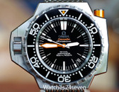 Omega Seamaster Ploprof 1200 meter Black Auto Co-Axial 48mm ON HOLD