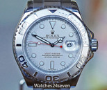 Rolex Yachtmaster Stainless Steel & Platinum 40mm 16622