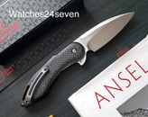 Todd Beggs Custom Steelcraft Glimpse 7.0 w/ G10 Carbon Fiber Inlay
