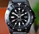Breitling Superocean 44 Black Steel 1000 Meter Automatic Date