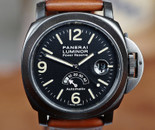 Panerai PAM 28 B T Dial Luminor Power Reserve PVD 44mm