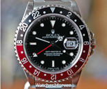 Rolex GMT Master II Coke Style Bezel Stainless Steel 40mm
