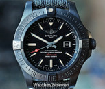 BREITLING Avenger Blackbird Automatic Black Titanium 48mm on Canvas