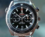 OMEGA Seamaster Planet Ocean Automatic Chronograph Co Axial Black Dial 45.5mm