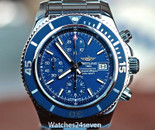 Breitling Superocean Chronograph Automatic 200 Meters Blue Dial 42mm