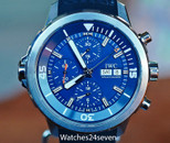 IWC Aquatimer Chronograph Blue Dial Cousteau Special Edition 44mm