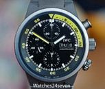 IWC Aquatimer Chronograph Automatic Day Date Titanium 42mm
