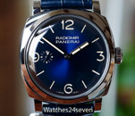 Panerai PAM 932 Radiomir 1940 Midnight Blue Dial 3 Day Acciaio 47mm ON HOLD
