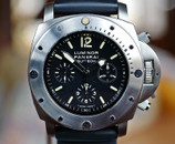 Panerai PAM 202 Luminor Submersible Chronograph LTD Slytech Ti 47mm